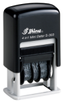 S-303 Self-Inking Mini Message & Date Stamp