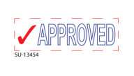 "SU-13454 - ""APPROVED""<BR>Message Stamp"