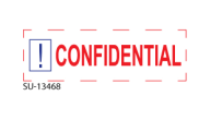 "SU-13468 - ""CONFIDENTIAL""<BR>Message Stamp"