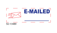 "SU-13489 - ""E-MAILED""<BR>Message Stamp"