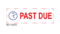 "SU-13531 - ""PAST DUE""<BR>Message Stamp"