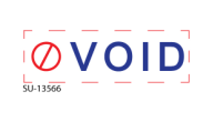 "SU-13566 - ""VOID""<BR>Message Stamp"