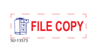 "SU-13573 - ""FILE COPY""<BR>Message Stamp"